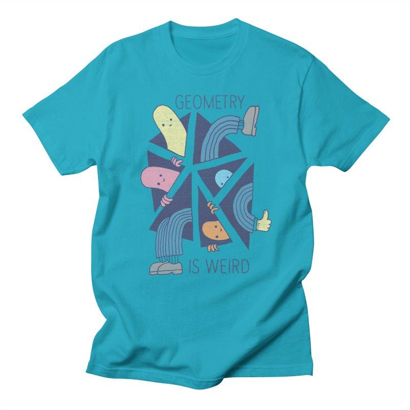 GEOMETRY IS WEIRD Men's Regular T-Shirt by Beanepod