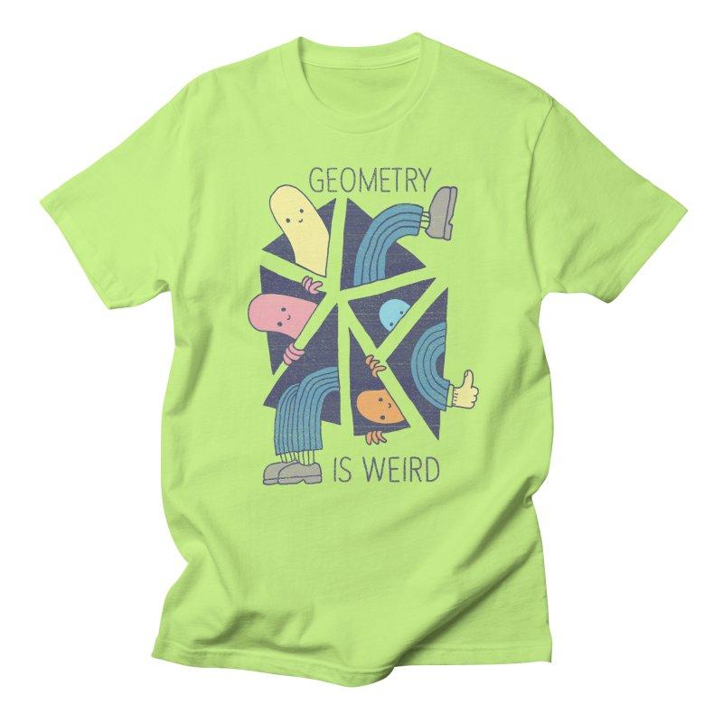 GEOMETRY IS WEIRD Women's Regular Unisex T-Shirt by Beanepod