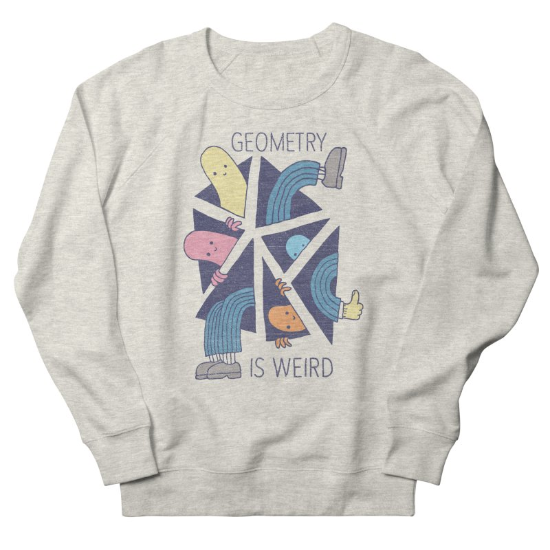 GEOMETRY IS WEIRD Men's Sweatshirt by Beanepod