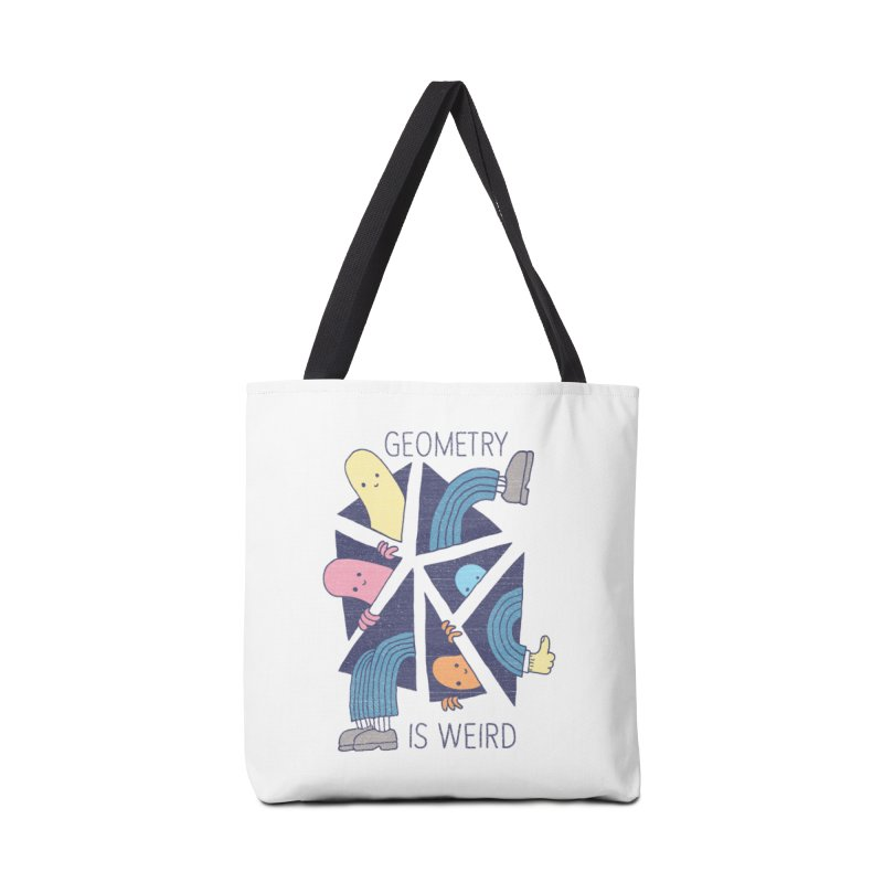GEOMETRY IS WEIRD Accessories Bag by Beanepod