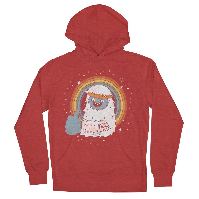 GOOD JORB! Men's French Terry Pullover Hoody by Beanepod