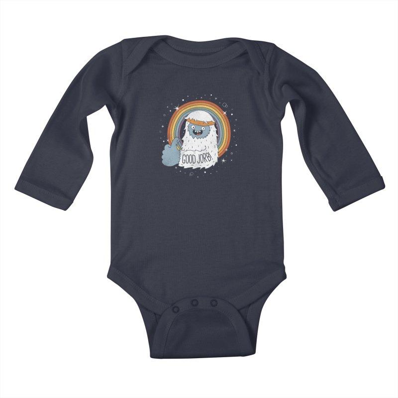 GOOD JORB! Kids Baby Longsleeve Bodysuit by Beanepod