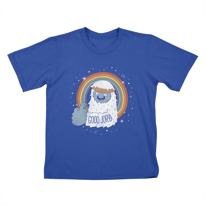 GOOD JORB! Kids T-Shirt by Beanepod