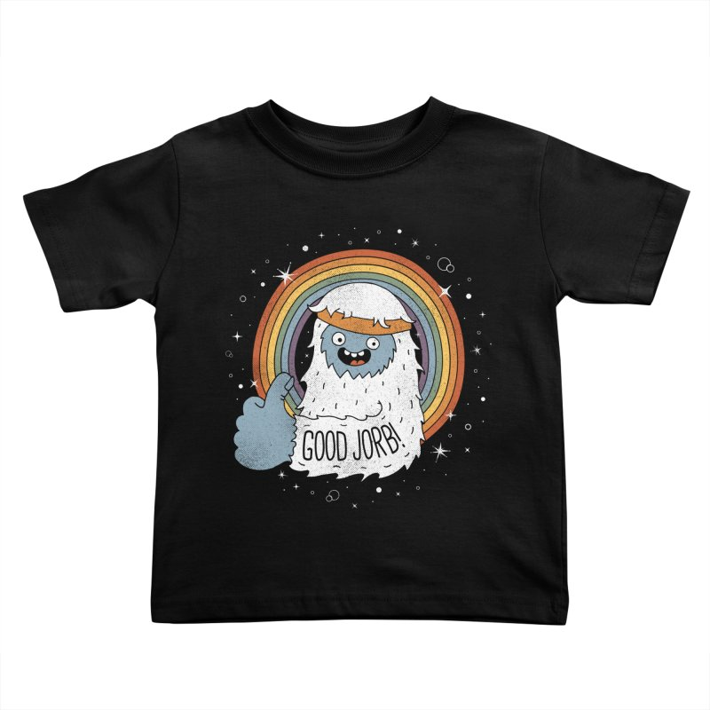 GOOD JORB! Kids Toddler T-Shirt by Beanepod