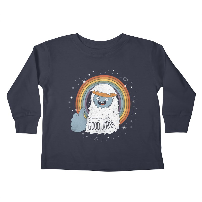 GOOD JORB! Kids Toddler Longsleeve T-Shirt by Beanepod
