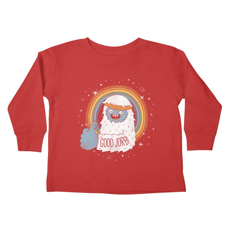 GOOD JORB! Kids Toddler Longsleeve T-Shirt by Beanepod