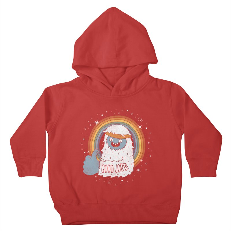 GOOD JORB! Kids Toddler Pullover Hoody by Beanepod
