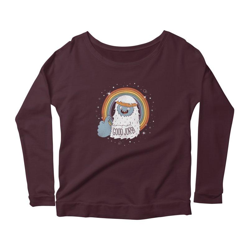 GOOD JORB! Women's Longsleeve T-Shirt by Beanepod