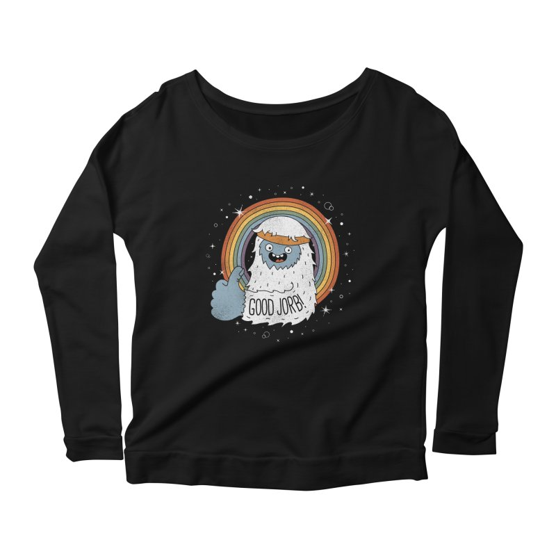 GOOD JORB! Women's Scoop Neck Longsleeve T-Shirt by Beanepod