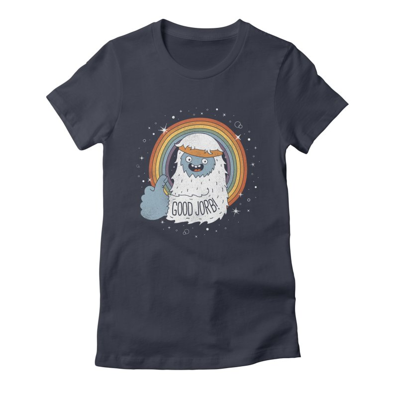 GOOD JORB! Women's Fitted T-Shirt by Beanepod