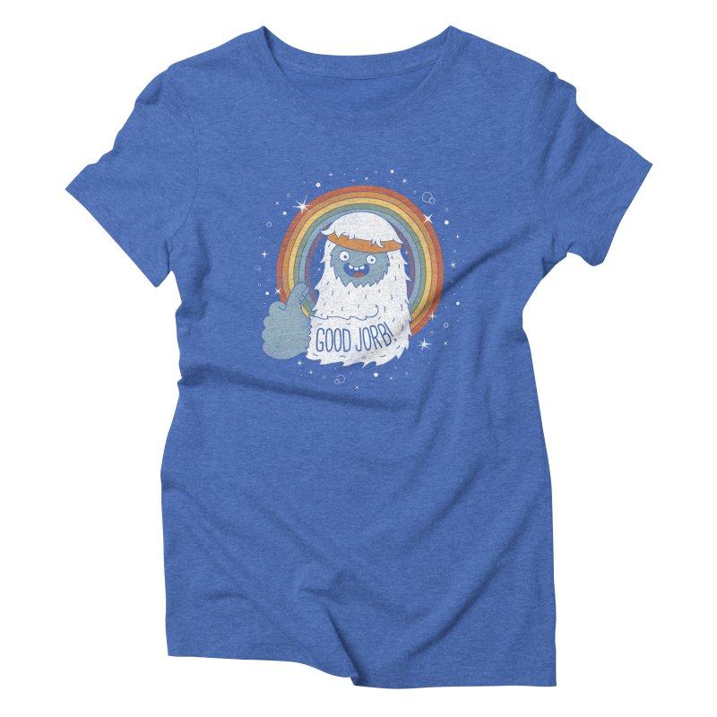 GOOD JORB! Women's Triblend T-shirt by Beanepod