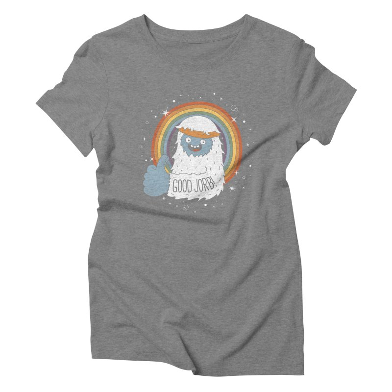 GOOD JORB! Women's Triblend T-Shirt by Beanepod