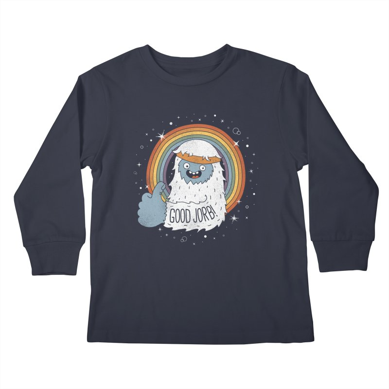 GOOD JORB! Kids Longsleeve T-Shirt by Beanepod