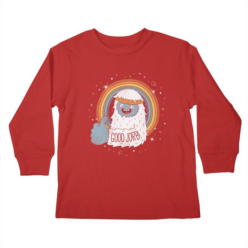 GOOD JORB! Kids Longsleeve T-Shirt by Beanepod