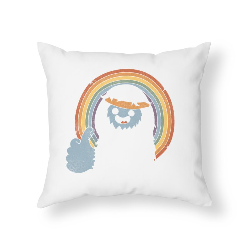 GOOD JORB! Home Throw Pillow by Beanepod