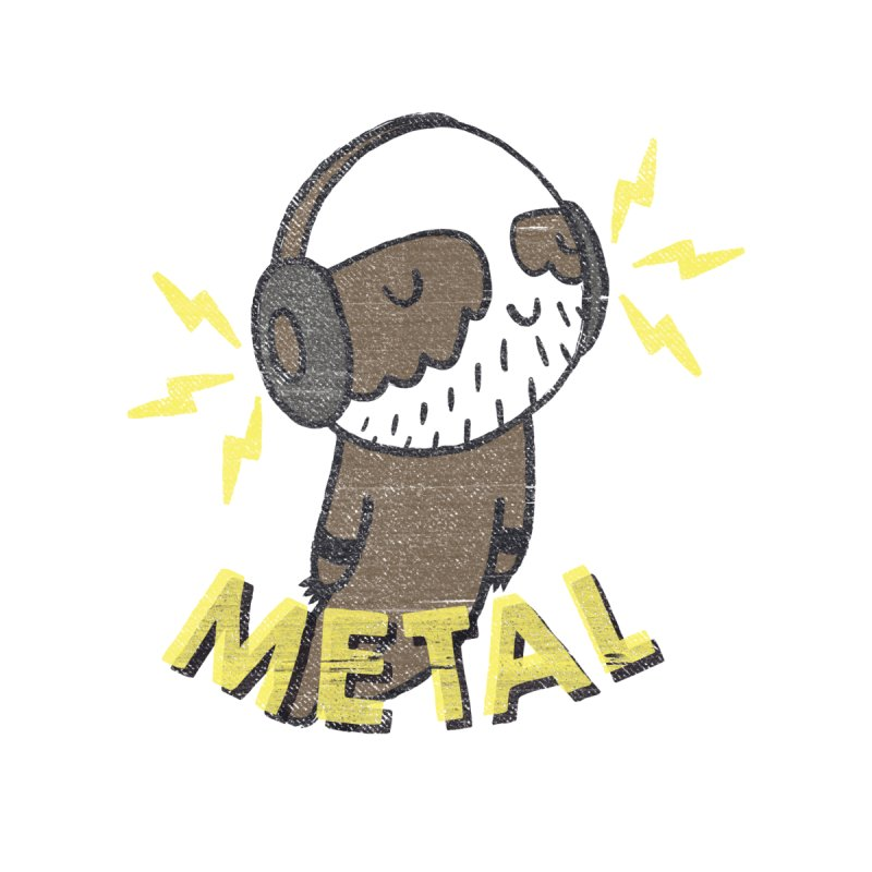 METAL IS MY CO-PILOT None  by Beanepod