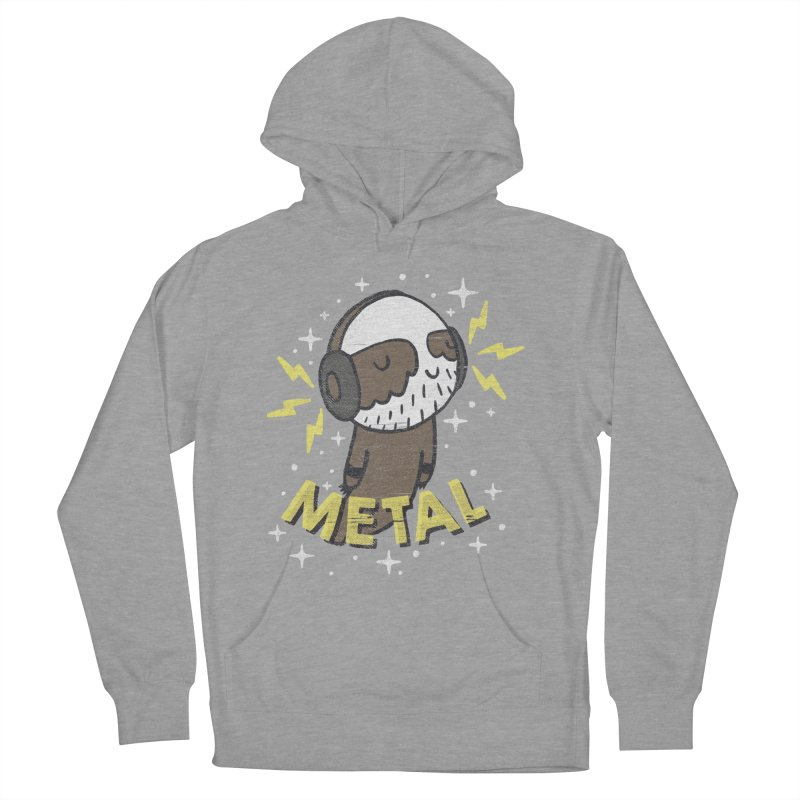 METAL IS MY CO-PILOT Women's Pullover Hoody by Beanepod