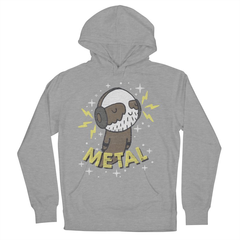 METAL IS MY CO-PILOT Men's Pullover Hoody by Beanepod