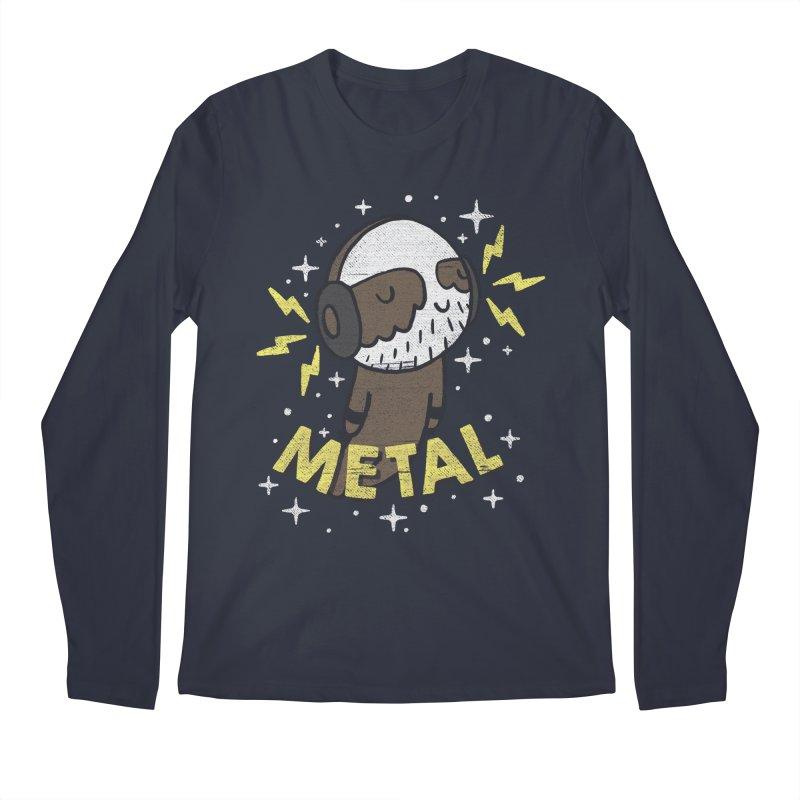 METAL IS MY CO-PILOT Men's Longsleeve T-Shirt by Beanepod