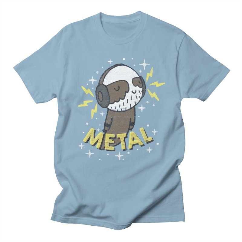 METAL IS MY CO-PILOT Men's T-shirt by Beanepod