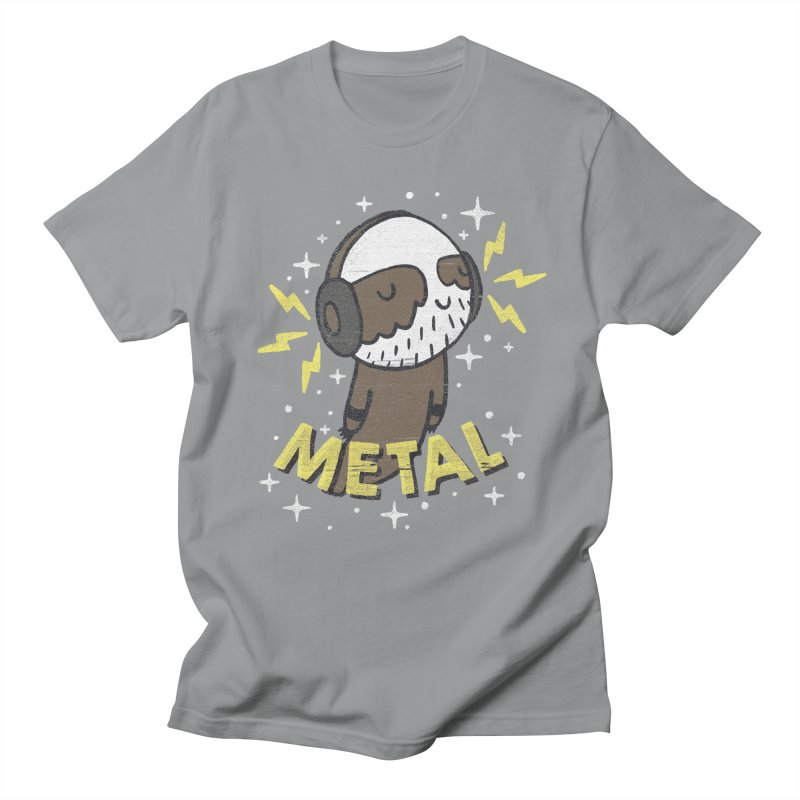 METAL IS MY CO-PILOT Women's Unisex T-Shirt by Beanepod