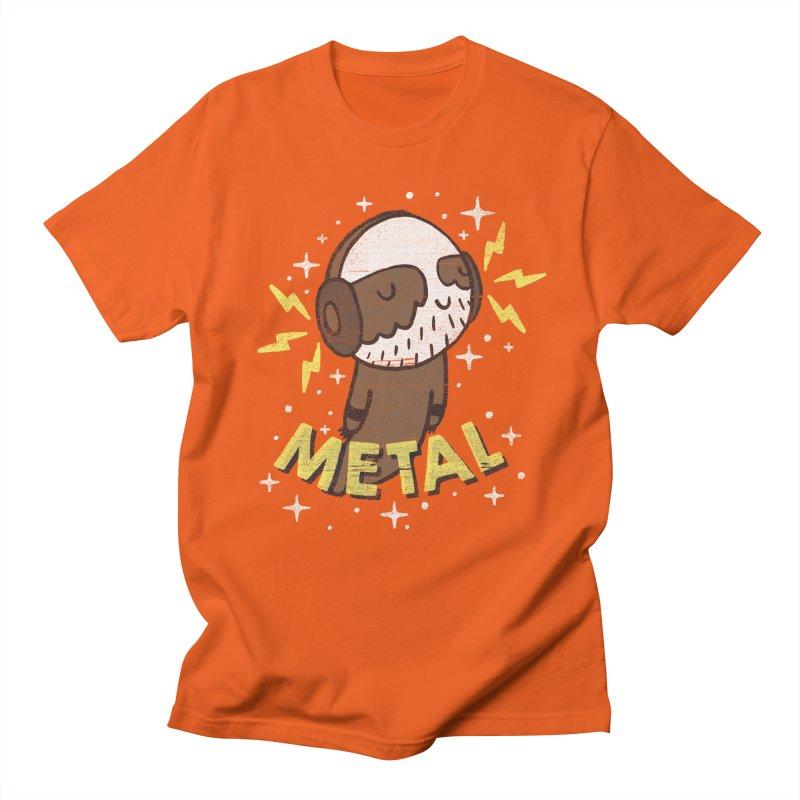 METAL IS MY CO-PILOT Women's Regular Unisex T-Shirt by Beanepod