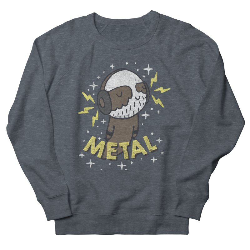METAL IS MY CO-PILOT Men's Sweatshirt by Beanepod