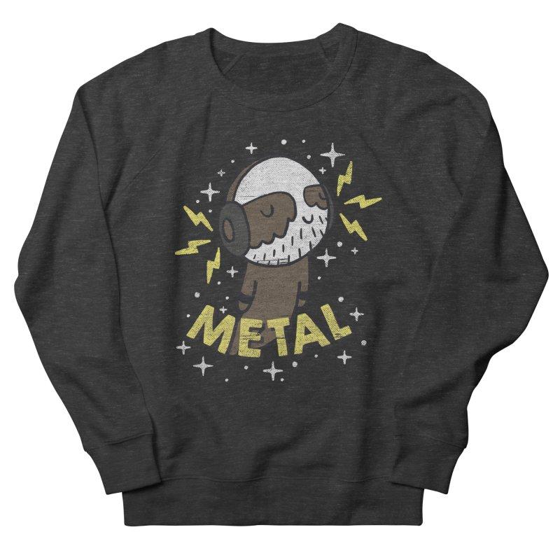 METAL IS MY CO-PILOT Men's Sweatshirt by Beanepod