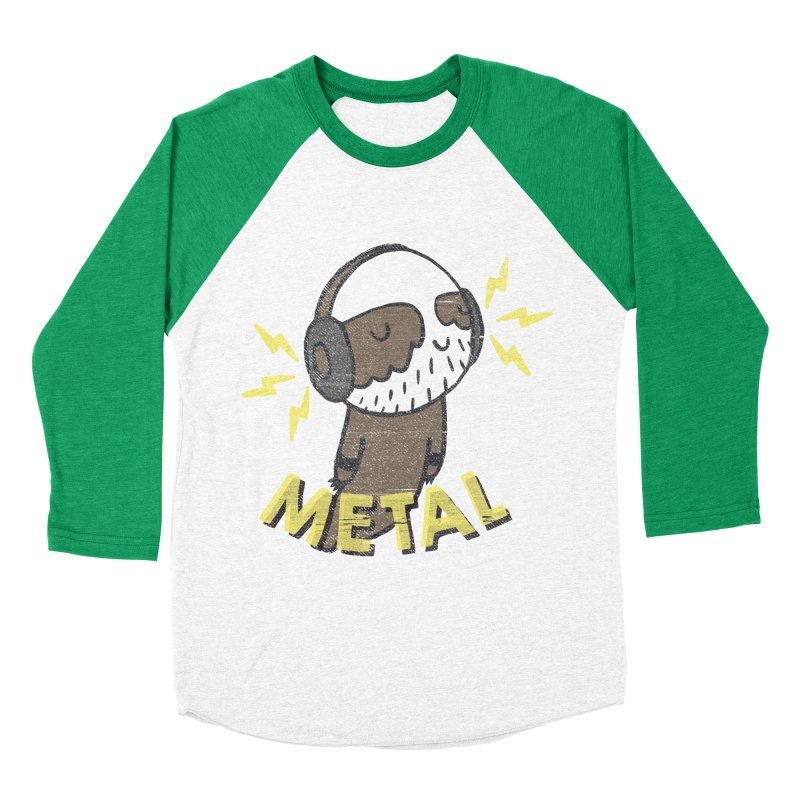 METAL IS MY CO-PILOT Women's Baseball Triblend Longsleeve T-Shirt by Beanepod