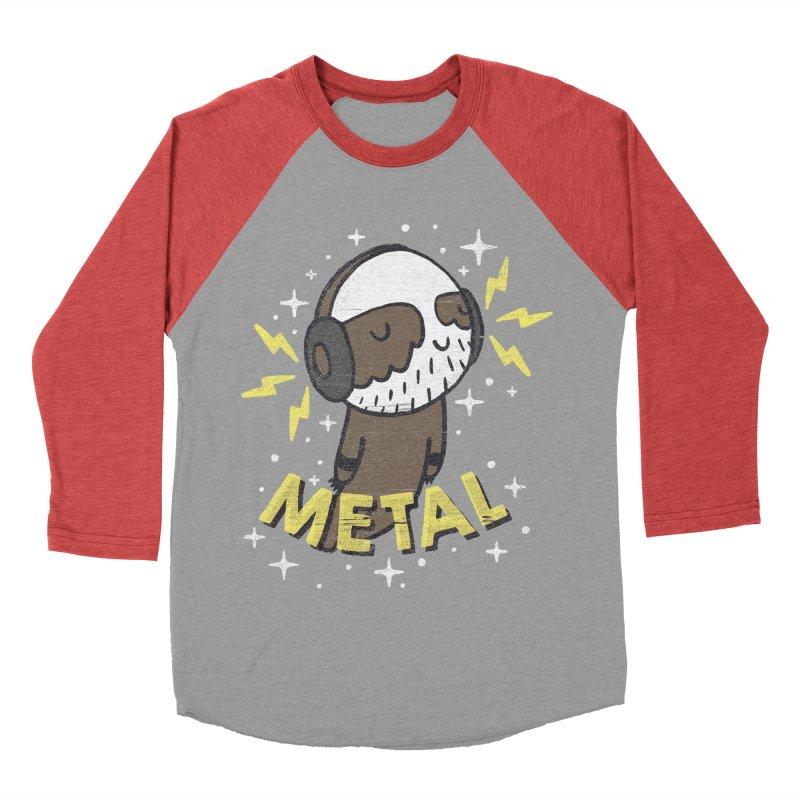 METAL IS MY CO-PILOT Women's Baseball Triblend T-Shirt by Beanepod