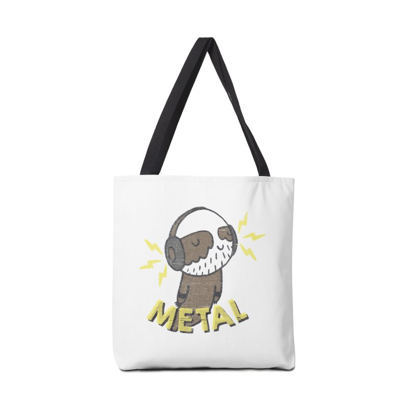 METAL IS MY CO-PILOT Accessories Bag by Beanepod