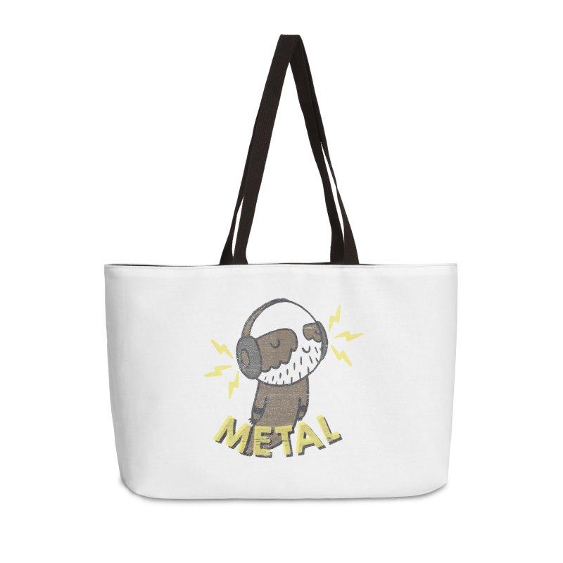 METAL IS MY CO-PILOT Accessories Weekender Bag Bag by Beanepod