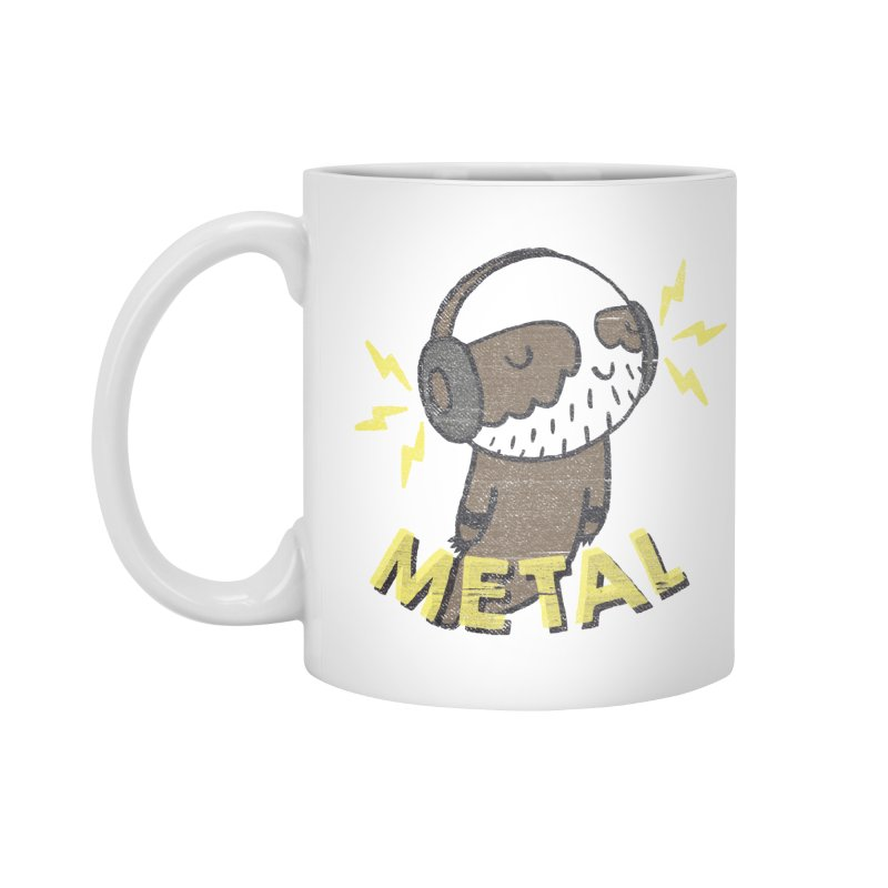 METAL IS MY CO-PILOT Accessories Mug by Beanepod