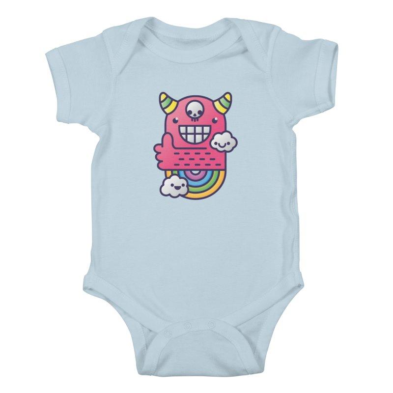 U ARE BEST GOOD FRIEND! Kids Baby Bodysuit by Beanepod