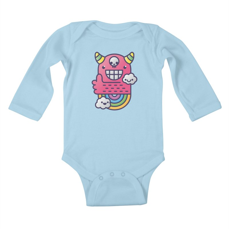 U ARE BEST GOOD FRIEND! Kids Baby Longsleeve Bodysuit by Beanepod