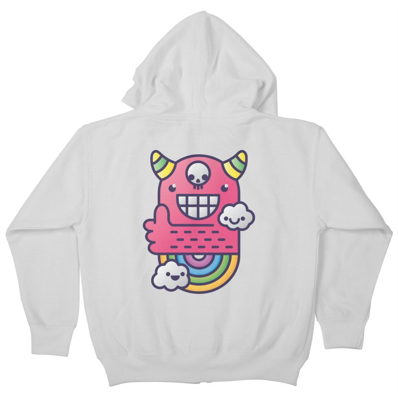 U ARE BEST GOOD FRIEND! Kids Zip-Up Hoody by Beanepod