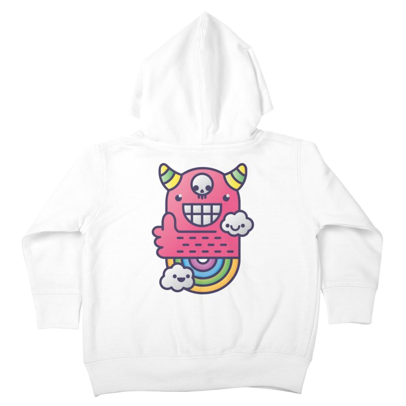 U ARE BEST GOOD FRIEND! Kids Toddler Zip-Up Hoody by Beanepod