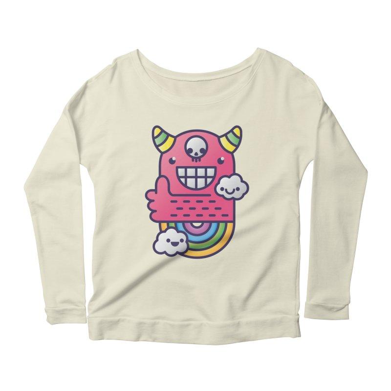 U ARE BEST GOOD FRIEND! Women's Scoop Neck Longsleeve T-Shirt by Beanepod