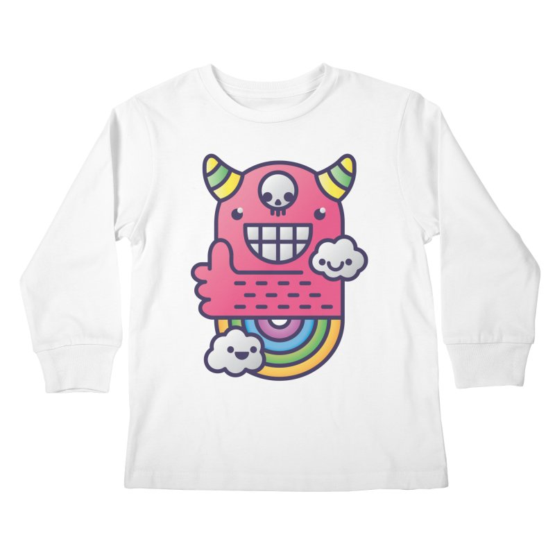U ARE BEST GOOD FRIEND! Kids Longsleeve T-Shirt by Beanepod