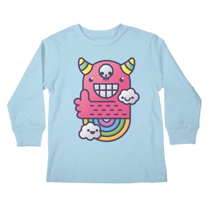 U ARE BEST GOOD FRIEND! Kids Longsleeve T-Shirt by Beanepod