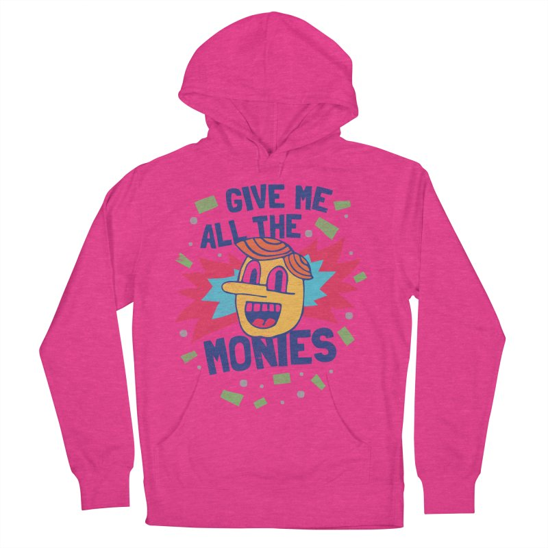 CAPITALISM IS AWESOME! Women's French Terry Pullover Hoody by Beanepod