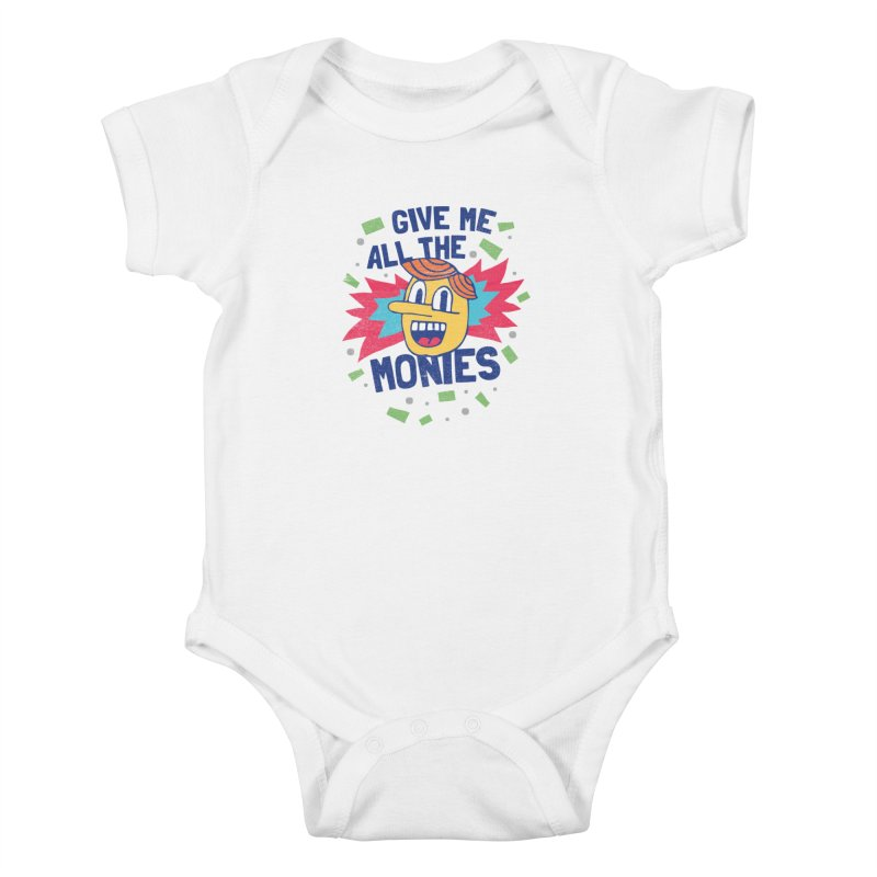 CAPITALISM IS AWESOME! Kids Baby Bodysuit by Beanepod