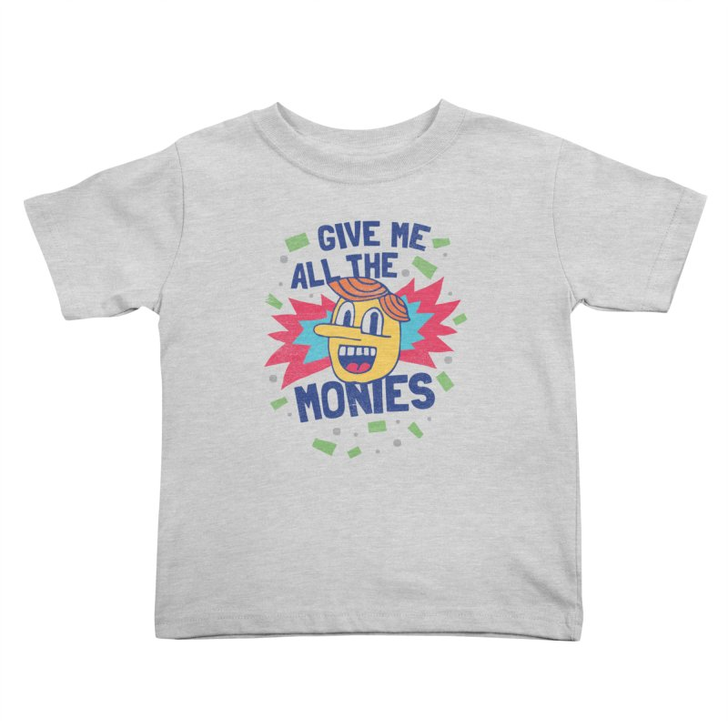 CAPITALISM IS AWESOME! Kids Toddler T-Shirt by Beanepod
