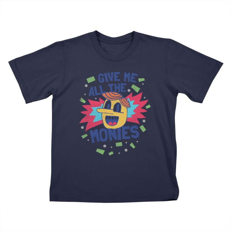 CAPITALISM IS AWESOME! Kids T-Shirt by Beanepod