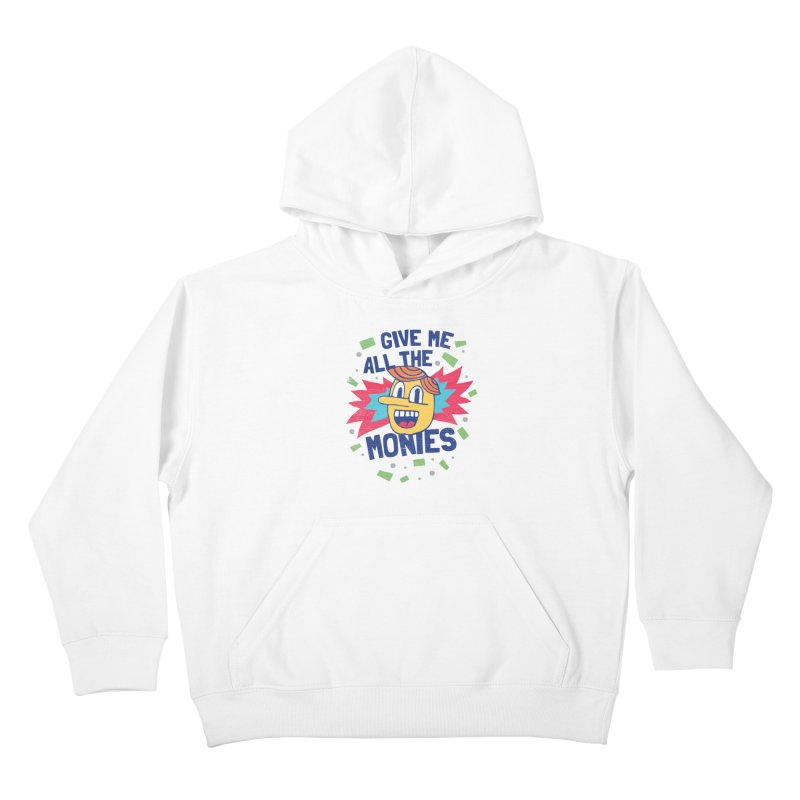 CAPITALISM IS AWESOME! Kids Pullover Hoody by Beanepod