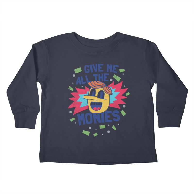 CAPITALISM IS AWESOME! Kids Toddler Longsleeve T-Shirt by Beanepod