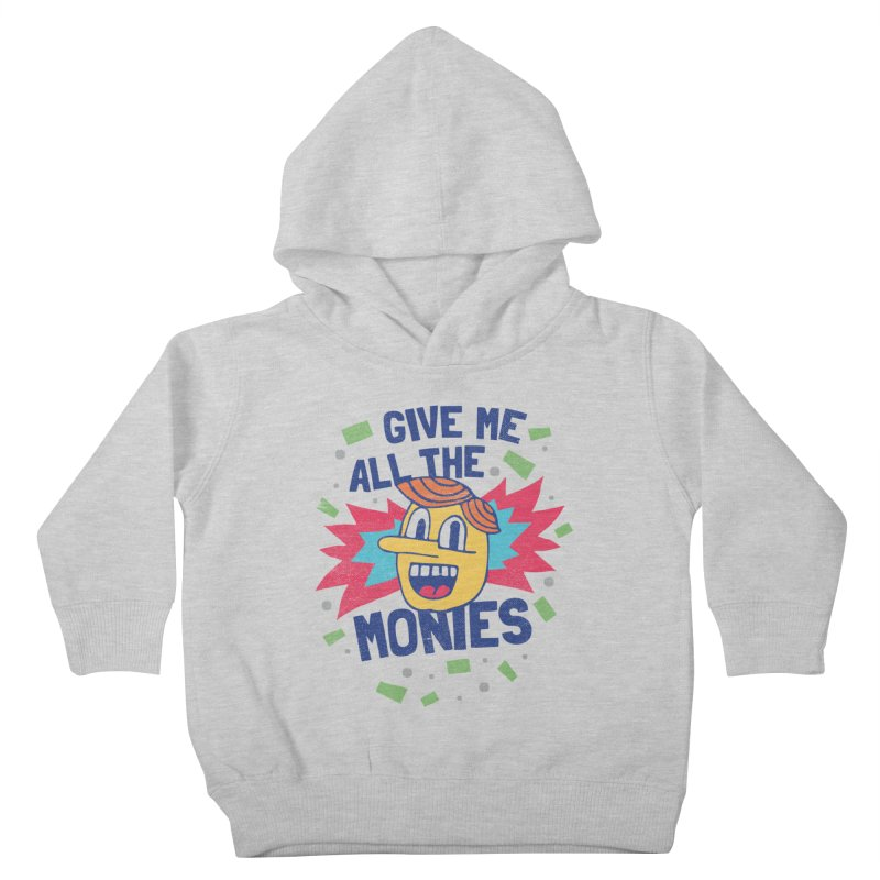 CAPITALISM IS AWESOME! Kids Toddler Pullover Hoody by Beanepod