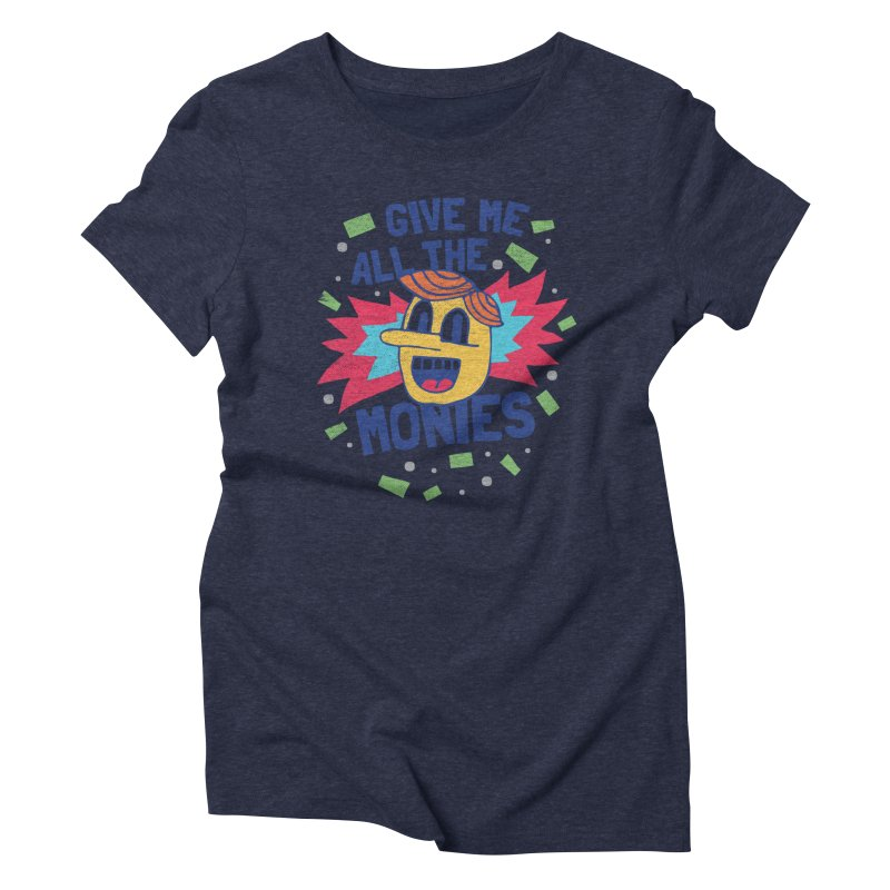 CAPITALISM IS AWESOME! Women's Triblend T-shirt by Beanepod
