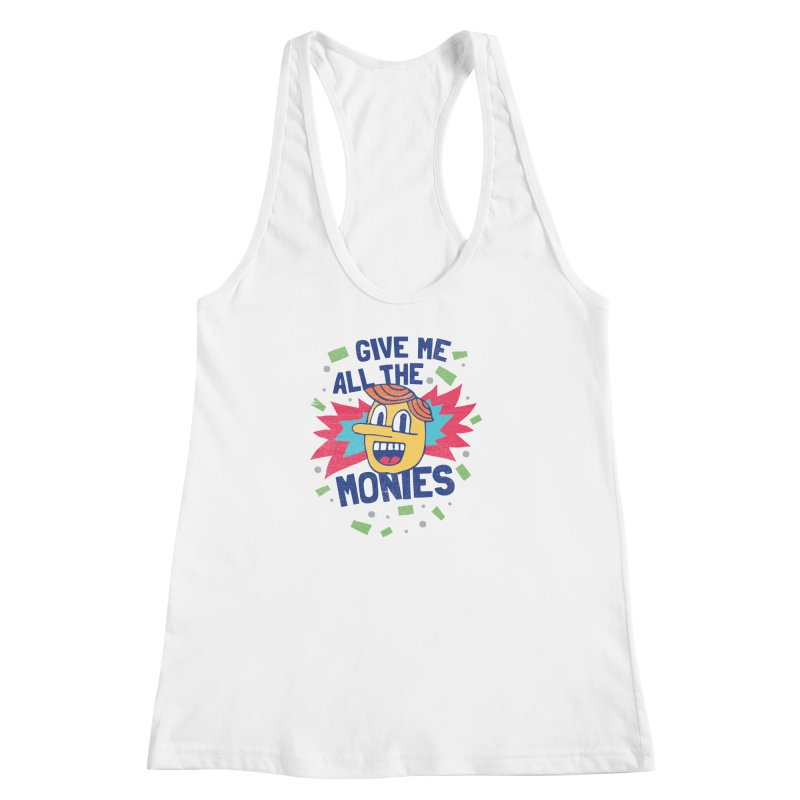CAPITALISM IS AWESOME! Women's Racerback Tank by Beanepod