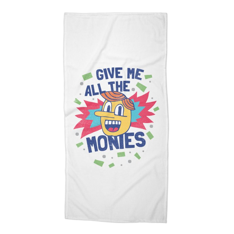 CAPITALISM IS AWESOME! Accessories Beach Towel by Beanepod